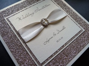 Invitation sample with Lainie Day font