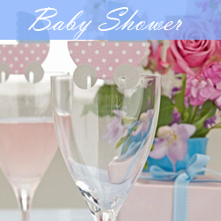 baby shower party invites and stationery