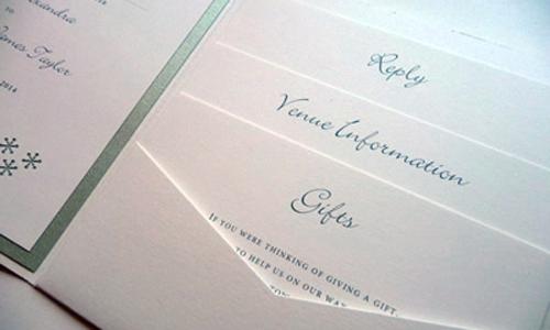 pocketfold - wedding invitation styles blog