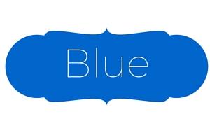 Blue Wedding Stationery designs