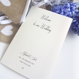 simple order of service booklet