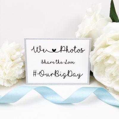We Love Photos #Wedding Cards