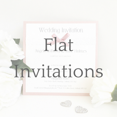 get a free sample of flat wedding invitations