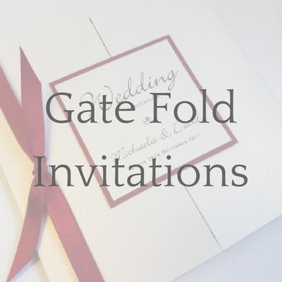 get a free sample of a gatefold wedding invitation