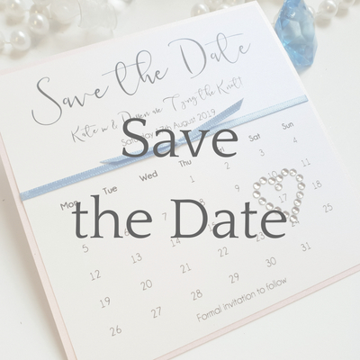 get a free sample of a save the date card