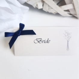 calla lily name place card