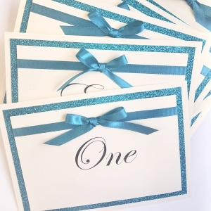 teal bow table names