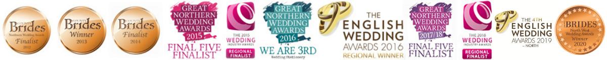 bespoke wedding invitation and day stationer awards